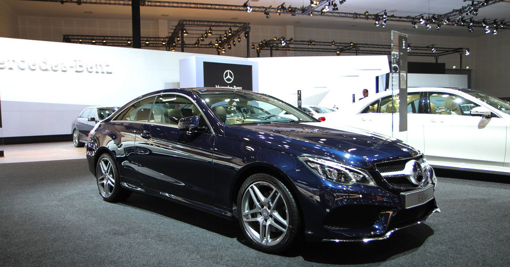 A look at the 2018 mercedes benz e class coupe for Pleasanton mercedes benz